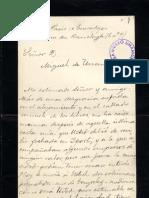 Carta Francisco Soto y Calvo a Unamuno. Raza. Ene 1900 (2)