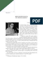 Andrea Dautović, Olga Lalević - Bibliografija radova dr. Zdravka Marića