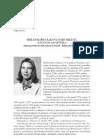 Andrea Dautović, Olga Lalević - Bibliografija radova Nade Miletić