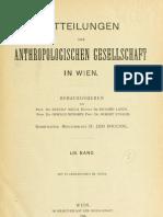 Lebzelter, Viktor, ''Beiträge zur physischen Anthropologie der Balkanhalbinsel I (Südslawen)'', 1923.