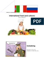 International food (and culture!)