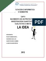La Idea(Hernandez Sampieri)