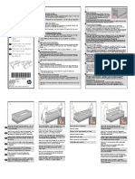 HP Designjet T770 & T1200 Printer Series - Assembly Instructions