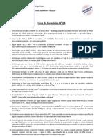 Curso FPQ Lista 04 Balanco Energia
