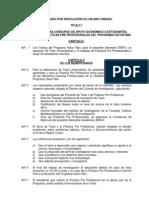 Reglamento del Concursotesis para aopoyo Económico de tesis