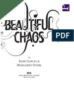 Book 3 Beautiful Chaos