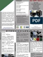 Folder XV EPI 2012