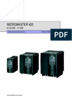 Instrucciones de Uso MM420