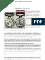 [History] Chin Hills Battalion, Burma Frontier Force 1942-1944