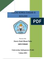 Tugas Kimia DAsar II 2011