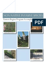 USFS Eastern Region Non-Native Invasive Species (NNIS) Report/2011 United States Department of Agriculture USFS Eastern Region Program Accomplishments.pdf