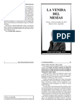 20121116 La Venida Del Mesias