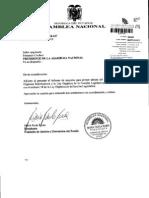 Ley Reformatoria a Al Lfl2 Informe Primer Debate