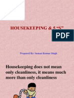 Housekeeping and 5s
