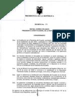 Reglamento General de Ley de Mineria