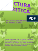LECTURA CRITICA