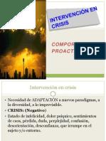 Crisis Proactividad