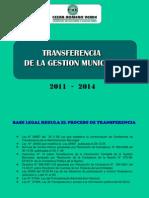Transferencia Municipal