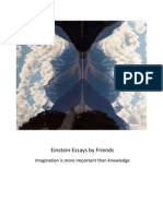 Einstein Essays by Friends Imagination is More Important Than Knowledge-1