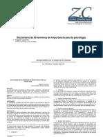 Diccionario de Análisis Conductual