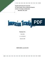 innovacion tecnologica