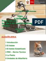 ALBAÑILERIA SENCICO PRIMERA PARTE