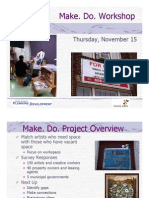 Make. Do. Survey Results Presentation