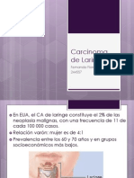 Tumore Malignos de Laringe