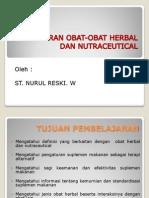 Gambaran Obat-obat Herbal Dan Nutraceutical