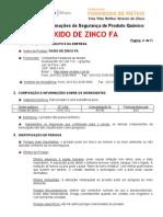 Xido de Zinco FA - Votorantin