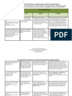 GA DOE Library Media Program Evaluation Rubric