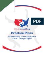 Olympic Styles Level 1 Practice Plan
