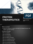 Protein Therapeutics