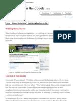 Wobbing Works - Chapter in Datajournalism Handbook