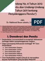 Undang-Undang Pemilu 2012