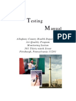 Source Test Manual