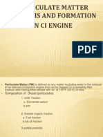 Particulate Matter Formation and Analysis