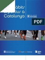 Habitos deportivos de Cataluña