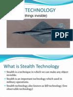 Stealth Ppt