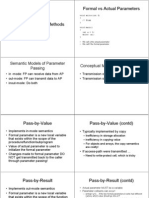 Actual Parameter's