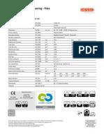 Arcade Spec Sheet