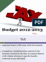 Budget 2012 13 Tax Copy
