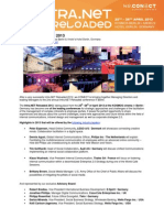 Press Release for intra.NET Reloaded 2013