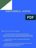 ANEVRISMELE  AORTEI
