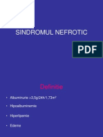 SINDROMUL NEFROTIC