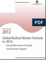 Global Biofuel Market Outlook to 2016 - Growing Mainstream Through Government Support