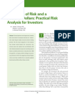 Chong Jennings Phillips JFSP 2012 Five Kinds of Risk and a Fistful of Dollars