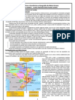 História Política e Econômica de Mato Grosso
