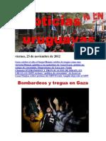 Noticias Uruguayas Viernes 23 Noviembre Del 2012