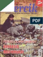 Majalah Percik tentang Pengelolaan Sampah Berbasis Masyarakat